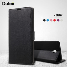 DULCII For Meizu m3Max m3 Max Bag Wallet PU Leather Stand Case Protect Cell Mobile Phone Cover Cellphone Funda for MeizuM3max(China)