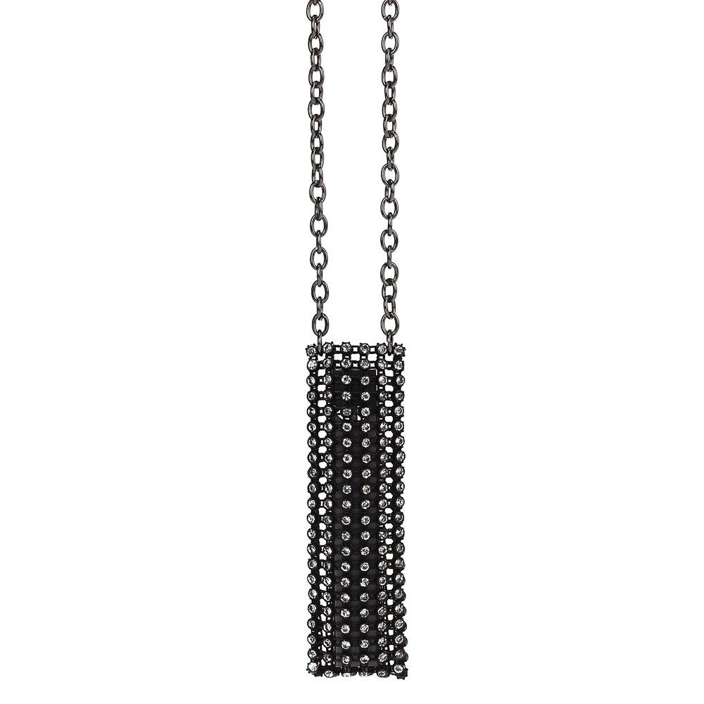 DP0901B women crystals pendant necklace designed for Juul Vape e cigarette pouch  (2)