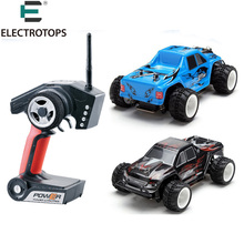 1/28 RC Car Wltoys P929 2.4G 4CH Off-Road Remote Control Monster Truck RC Vehicles 30km/h RTR Electric 4WD Brushed toys(China)