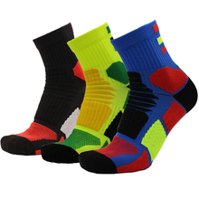 NEW Professional Mens Womens Riding Cycling Socks Bicycle Outdoor Sports Breathable Basketball Football Running Cotton Sock EM20(China)
