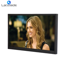 32inch wall mount LCD monitor best buy with HDMI + VGA + USB 32 inch lcd cctv monitor(China)