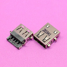 Brand 4PIN 90-degree 2.0 Female usb jack Laptop computer USB plug socket connector. 20341