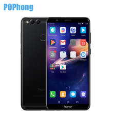5.93 inch Huawei Honor 7X Android 7.0 Octa Core Cell Phone Kirin 659 Full View Screen 2160*1080 Dual Rear Camera 16MP OTA P