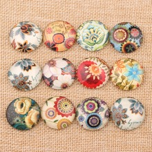 Buy onwear diy handmade mix flower pattern photo round glass cabochon 25mm 10mm 12mm 14mm 18mm 20mm diy jewelry findings for $3.67 in AliExpress store