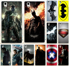 Top Selling Print Superman Captain America Thor Black Widow PC Hard Back Cover For Lenovo P70 P70T Painted Phone Case Skin Shell