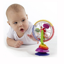 Funny baby three-color rotating windmill toys for newborns  baby educational toys baby learning toys 0~12 months