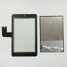 LCD Display Panel Screen Monitor + Digitizer Touch Screen Glass Sensor for Asus MeMO Pad HD7 ME173 ME173X K00B (LCD FOR Innolux)