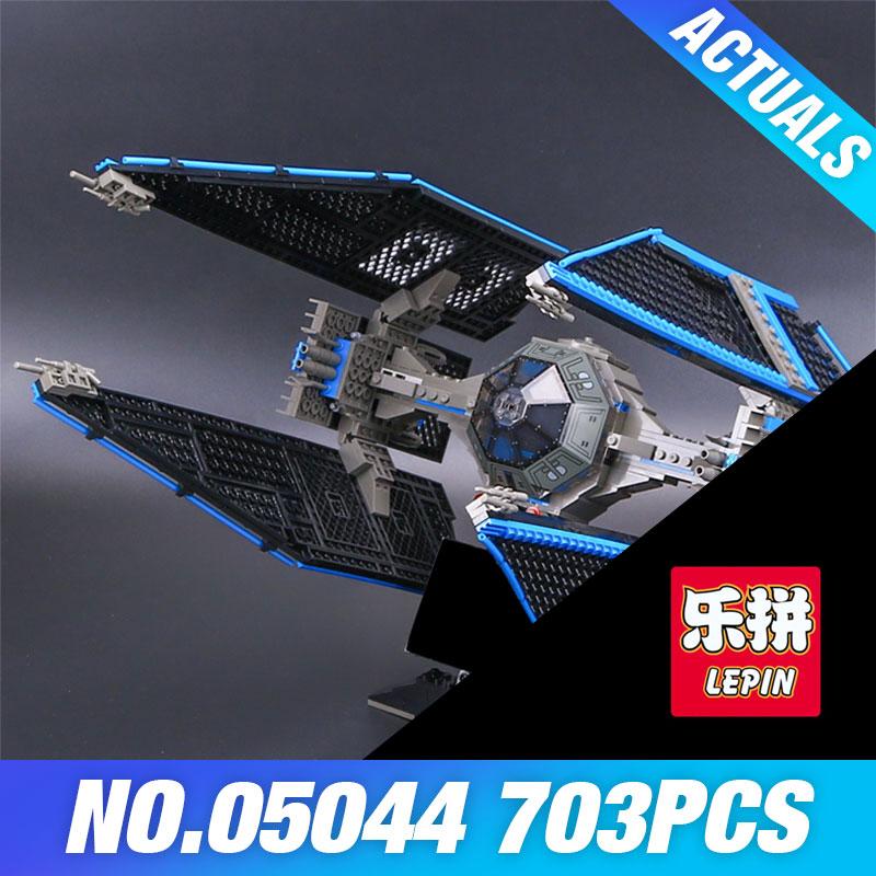 703pcs Lepin 05044 Star Series Wars Limited Edition TIE Interceptor Building Blocks Locking Bricks Model Educational Toys 7181<br>