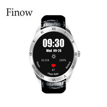 New Bluethooth 4.0 Smart Watches Finow Q5 with 3G SIM Card Wifi GPS for Android IOS 512MB 8G Wrist Smart watch