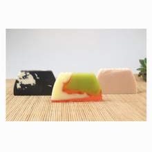 Recommend wholesale natural herbal bamboo charcoal and fruit mango glycerin beauty bar bath hand soap handmade(China)