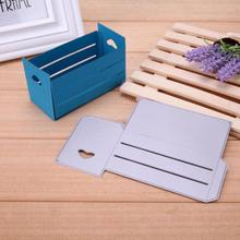 Handmade Gift Box Metal Cutting Dies Stencils Scrapbooking Album Embossing Card Craft(China)