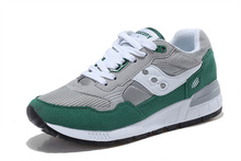 Free Shipping Saucony Shadow 5000 Women's Shoes,High Quality Retro Women's Shoes Sneakers Grey/Green SAUCONY Hiking Shoes(China)