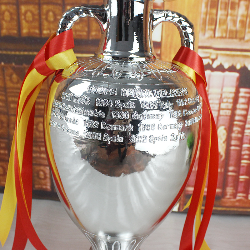 Delaunay-Cup-Trophy-Model-Replica-34cm-Medium-Size-Euro-European-Cup-Championship-for-Fans-Bar-Club