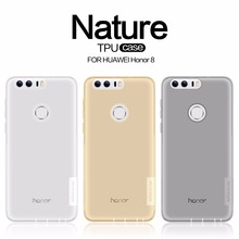 Huawei Honor 8 case TPU Transparent soft case for Huawei Honor 8 NILLKIN Nature Series Luxury back cover with retailed package
