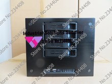 NEW Aluminum wire drawing Home Mini Storage server Equipment Chassis NAS Chassis NAS Hot swap