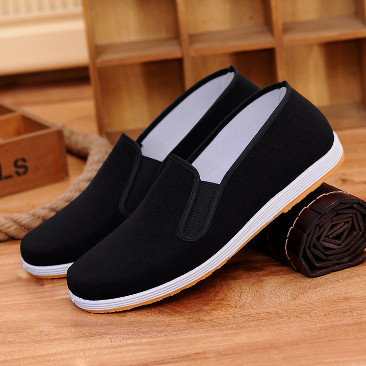 Shoes Man Male Super Soft Towel Driver Dichotomanthes Skid Shoes Oxford Flat Canvas Walking China Retro Shoes