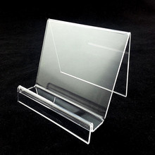 L12cm15cm18cm Acrylic Purse Wallet Bag Iphone Book Display Racks Holder Stands Guesse Sheet T3mm 4pcs High Quality