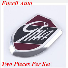 2 Pcs For GHIA Shield Car Decoration sticker For Ford Focus 3 2 ECOSPORT For Ford Fiesta Cruze 2009 - 2012 2013 2014 2015