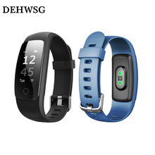 DEHWSG ID107 Plus HR Smart Wristband Waterproof Fitness Bracelet Heart Rate Monitor Smartband Android iOS VS MI Band 2 - WS Technologies Store store