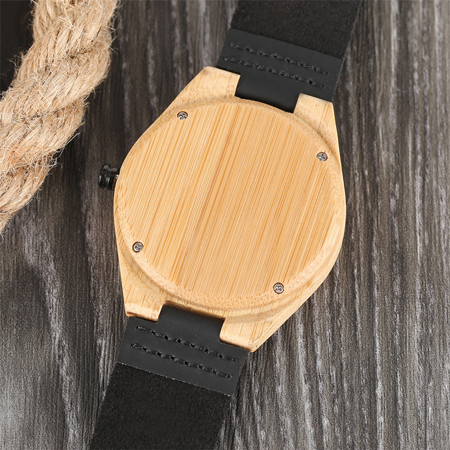 genuine leather band creative watches for men12