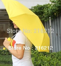 Banana Umbrella Um-banana ( Yellow / Green ) Novelty Umbrella Umbrellas