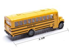 2016 Germany 1319 new American school bus school bus yellow car new packaging alloy