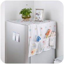 Transparent printing waterproof pouch refrigerator cover towel(China)