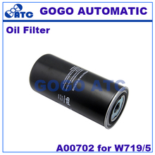 High quality Screw air compressor oil filter A00702 for W719/5 Oil filter air compressor air compressor(China)