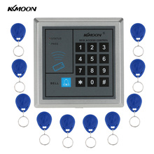 KKmoon Home Security RFID Proximity Entry Door Lock Access Control System With 10pcs  RFID Keys Key fob