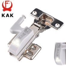 Brand KAK Universal Kitchen Hinge Light Bedroom Living Room Cabinet Cupboard Closet Wardrobe 0.25W Inner LED Sensor Light System(China)