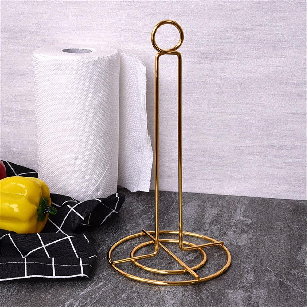 31cm Creative Plastic Roll Paper Holder kitchen Toilet Paper Storage Rack Stand