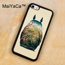 MaiYaCa My Neighbor Totoro Nature Phone Case For iPhone 5 5S SE Luxury Cover Shell For Apple Back Cover For iPhone 5s case(China)