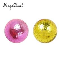 MagiDeal 1Pcs Pro Double Layer Golf Ball for Match or Practice Play Send in Random Color