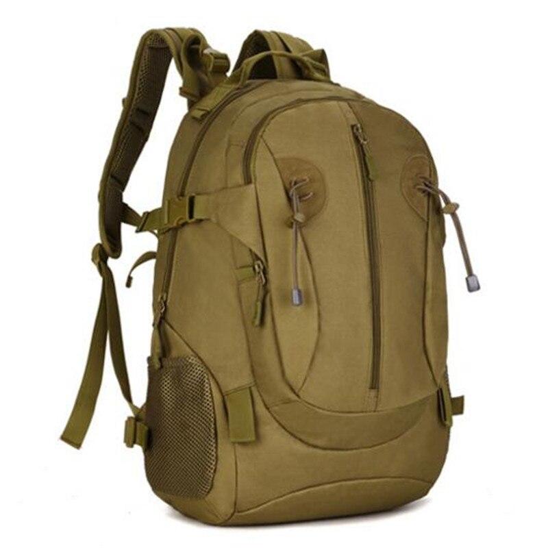 40 liters leisure backpack waterproof travel backpack wearproof  Dual-use students School bag computer mens bags<br>