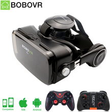 BOBOVR Z4 Box Virtual Reality goggles 3D glasses headset bobo vr Google cardboard headphone for 4.0-6.0 inch smartphones(China)