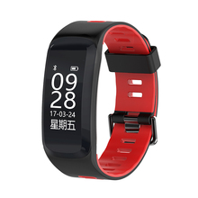 Teyo Bluetooth Smart Band F4 Heart Rate Monitor Fitness Smartband with GPS Step Deep Waterproof Smart Bracelet for Android IOS(China)
