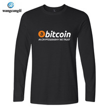 Buy New Bitcoin Trust Tshirt T shirt Men Women Casual Brand Clothing Print Bitcoin Long Sleeve T-shirt Tops Tees for $7.70 in AliExpress store