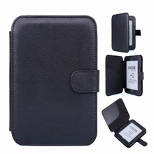 Leather Pouch Case Cover For Barnes Noble B&N Nook 2 2nd Simple Touch Reader(China)