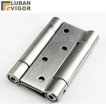 High quality ,4 inch Stainless steel Quiet Two-way hinges ,Adjustable strength,Automatic closing, Door Hardware