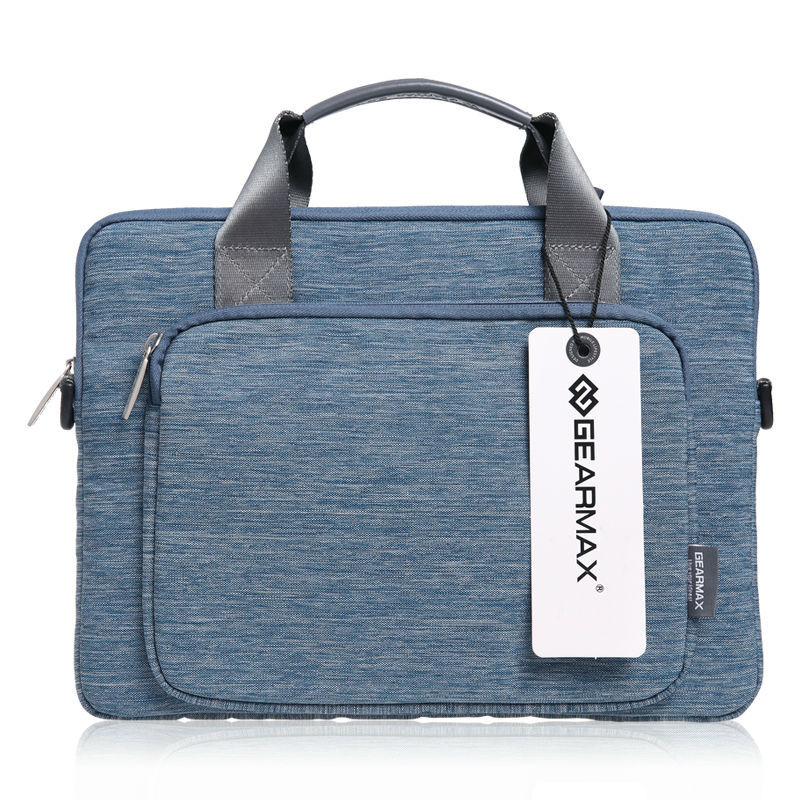 For Macbook Laptop Briefcase 14 Fashion Mens Laptop Bag 15.6 Waterproof Denim Notebook Bag 13.3+Free Gift Keyboard Cover<br><br>Aliexpress