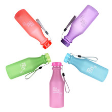 TTLIFE Portable Leak-proof Unbreakable Water Bottle Outdoor/Camping/Bike/Sport 550 ML Unbreakable Plastic Water Bottle