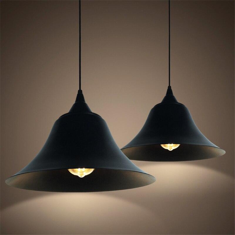 Vintage Loft E27 Iron Pot Pendant Lamp Retro Industrial Wind Pendant Light Sconce Home Furnishing decoration for Restaurant Bar<br>