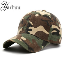 [YARBUU] baseball cap new fashion Camouflage caps 2017 Adjustable sun cap hat for men and women hot snapback caps free shipping(China)