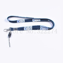 10mm*90mm Custom LOGO Lanyard Keychain Logo Cell Phone Neck Straps Metal Swivel Hook
