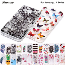 B67 Flower Owl Silicone Case For Samsung Galaxy J3 J5 J7 A3 A5 2017 A520 A320 J330 J530 J730 J510 J710 Ultra Soft TPU Case Funda(China)