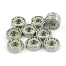 WSFS Hot 10 Pcs 625ZZ 5mm x 16mm x 5mm Shielded Deep Groove Radial Ball Bearing