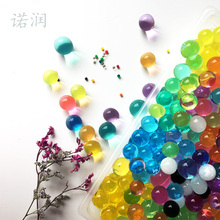11000PCS/lot 2.5mm to 3mm Crystal soil/Crystal ball/sea baby grow up 15-25mm hydrogel beads water holder 10000PCS/lot(China)