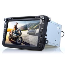 8 inch 2 din Quad Core Car Dvd Player with bluetooth USB AM FM HD GPS Map Universal for Volkswagen for VW Capacitive Screen