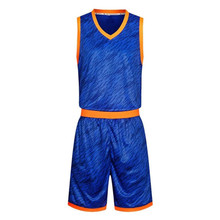 blue basketball jerseys high quality cheap throwback basketball jerseys wholesale new uniform for adults LD-8003