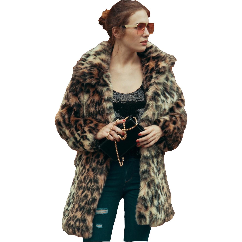 Luxury Leopard Fur Coat Winter Jacket Women Coats Jackets Pink Colored Coats Womens Volett Bontjas Damen Pelzmantel Fell Jacke